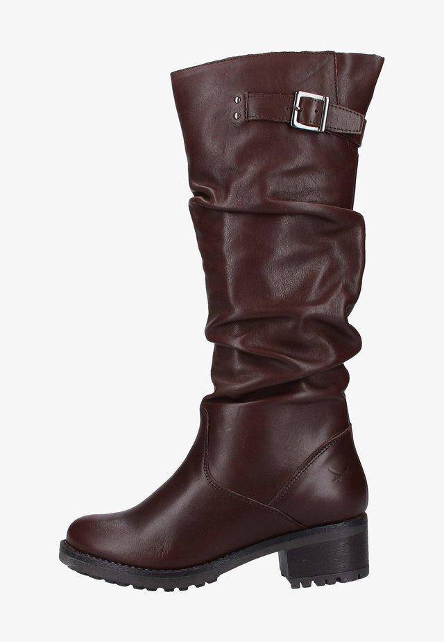 Boots - medium brown