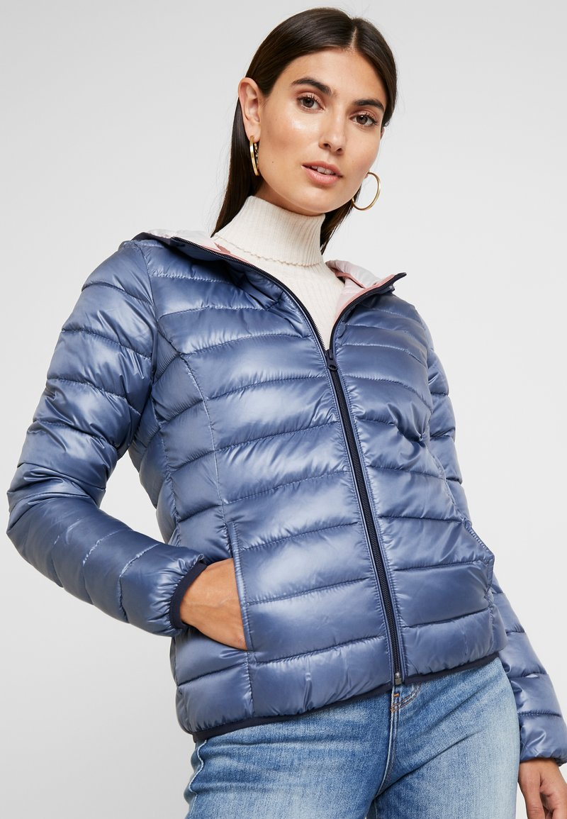 Q/S designed by - Winter jacket - blue/grey