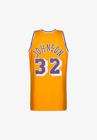 Mitchell & Ness - NBA LA LAKERS SWINGMAN 2.0 MAGIC JOHNSON BASKETBALLTRIKOT HERREN - Article de supporter - yellow - 1