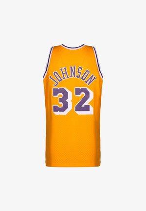 NBA LA LAKERS SWINGMAN 2.0 MAGIC JOHNSON BASKETBALLTRIKOT HERREN - Article de supporter - yellow
