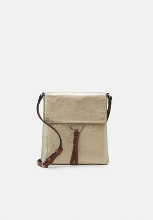 CAS MESSENGER - Sac bandoulière - gold-coloured