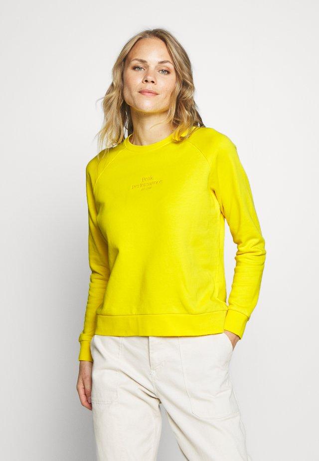 ORIGINAL LIGHT CREW - Felpa - stowaway yellow