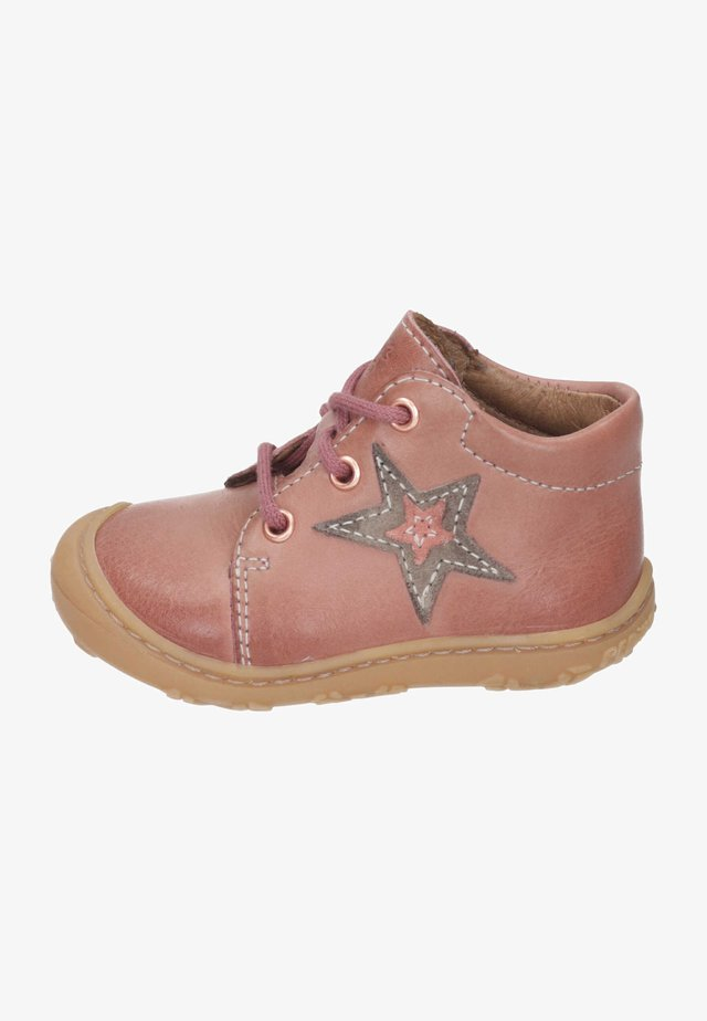 Baby shoes - rose/tundra