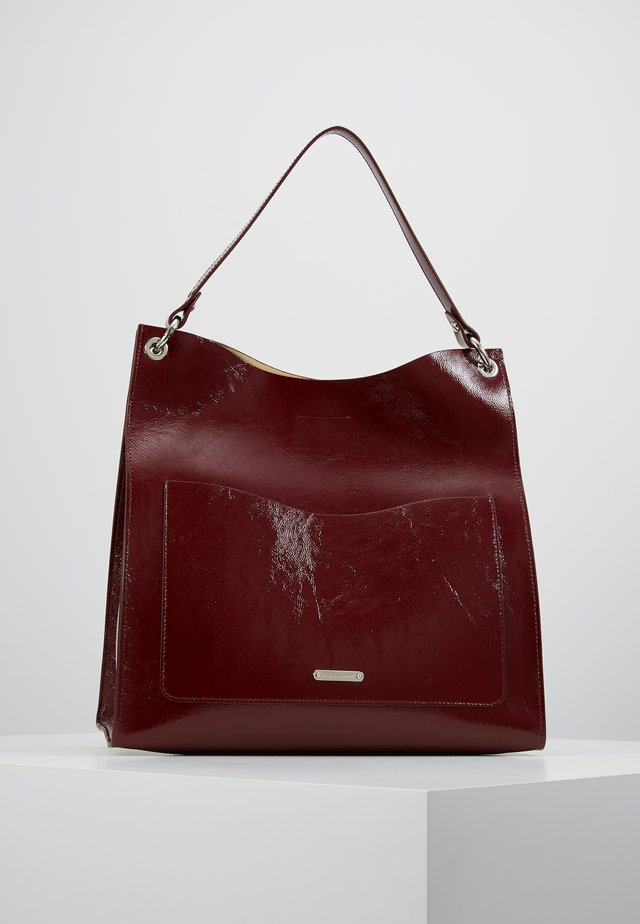 RING TOTE - Shoppingveske - pinot noir