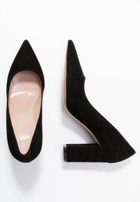 HUGO - INES CHUNKY - High heels - black - 3