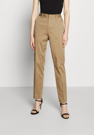 BELL' IN MERCERIZED QUALITY - Chino kalhoty - sand