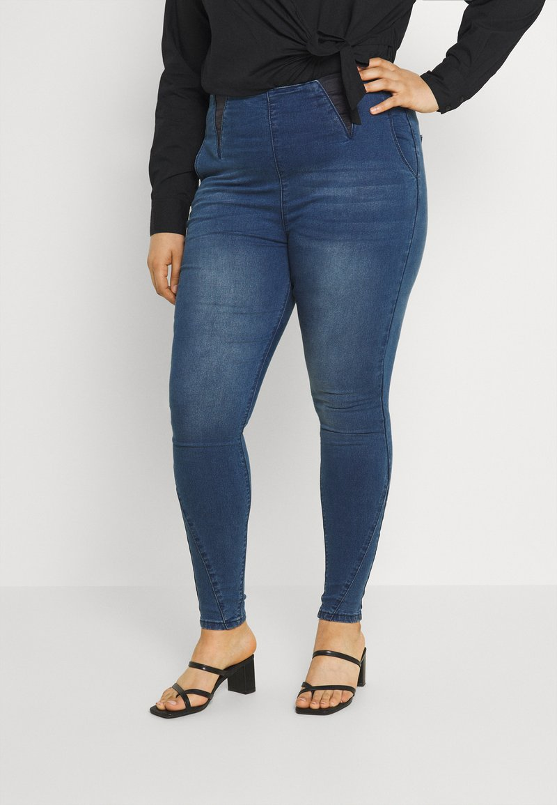Simply Be - Jeggings - mid blue