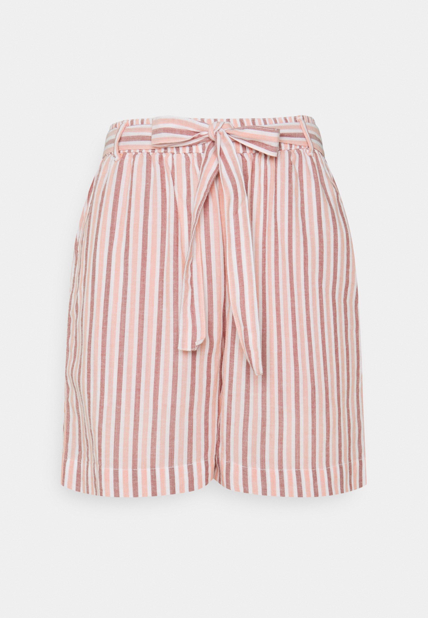 Women TULIP STRIPED PAPER BAG - Shorts