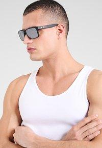 Oakley - HOLBROOK UNISEX - Sunglasses - matte black - 0