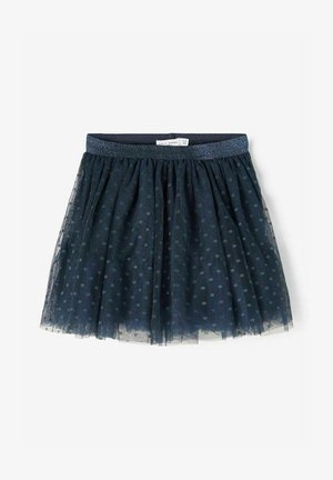 A-line skirt - dark sapphire