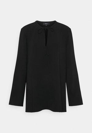 FLUID BLOUSE ADMIRAL - Blusa - black