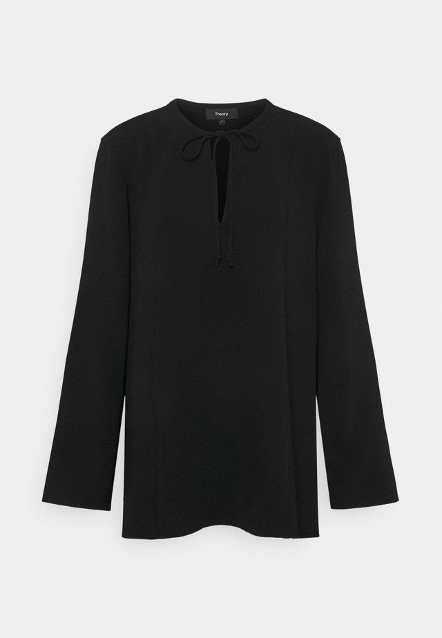 FLUID BLOUSE ADMIRAL - Bluse - black