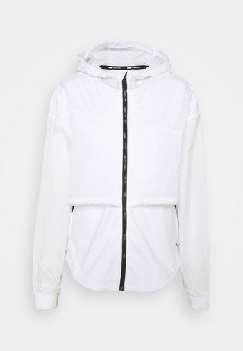 TRAIN ULTRA HOODED JACKET - Sportovní bunda - puma white