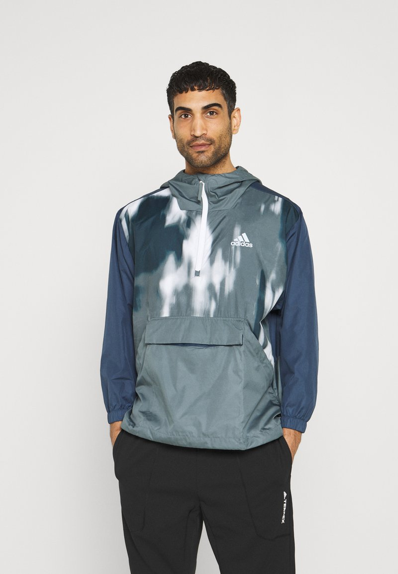 adidas Performance - BACK TO SPORT WIND.RDY ANORAK - Chaqueta outdoor - crew navy/blue oxide