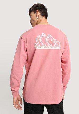 SARETINE - Long sleeved top - pink lulu