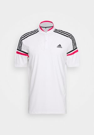 PERFORMANCE SPORTS GOLF SHORT SLEEVE - Polo shirt - white/power pink