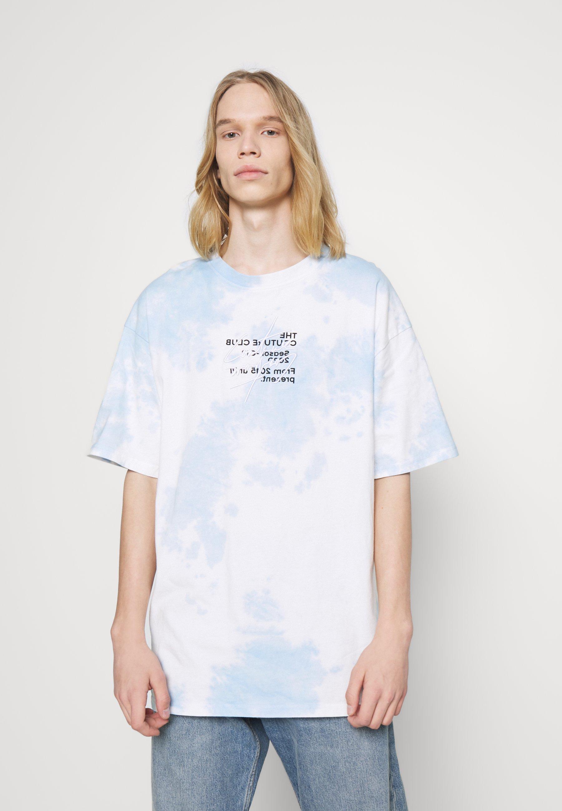 Men SIGNATURE SEASON CLOUD WASH TEE - Print T-shirt