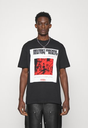 GRAMSCI UNISEX - Print T-shirt - black