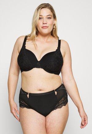 DIVA IRIS PLUS - Triangle bra - black