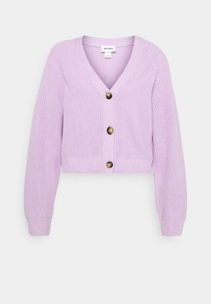 ZETA CARDIGAN - Cardigan - purple
