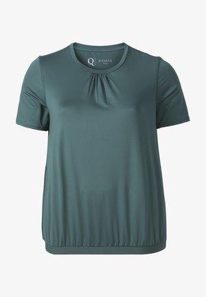 NELLA W SS  - Basic T-shirt -  silver pine