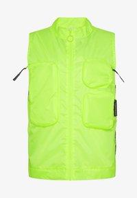 GERALD - Waistcoat - neon yellow