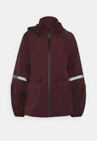 Sweaty Betty - MISSION JACKET - Waterproof jacket - plum red - 5