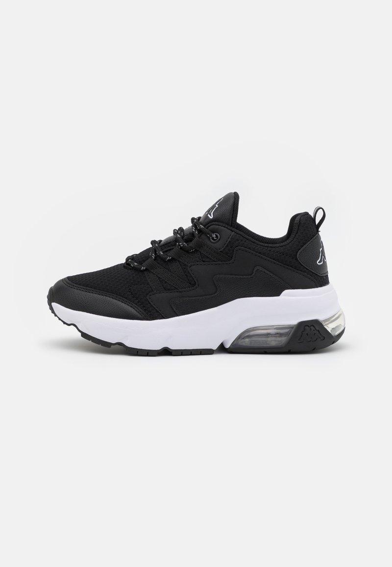 Kappa - YAKA UNISEX - Sports shoes - black/white