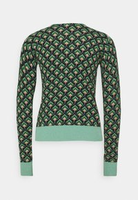 King Louie - CARDI ROUNDNECK EMPEROR - Kardigan - island green - 6