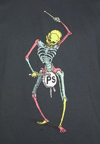 PS Paul Smith - DRUM SKELETON - Print T-shirt - dark grey - 5