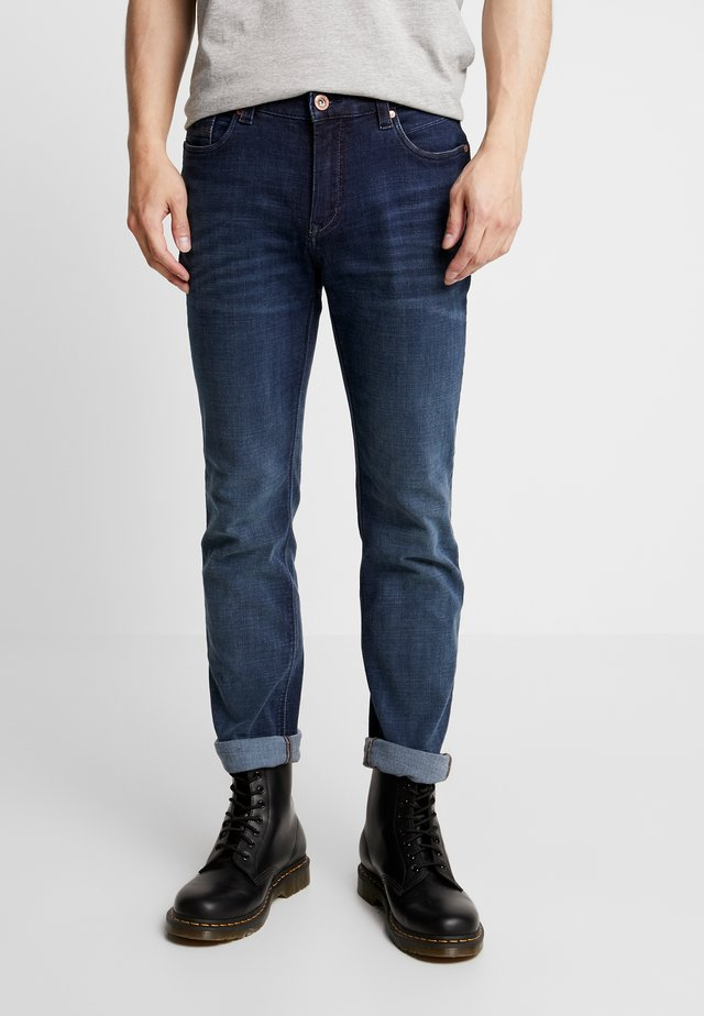 BEN MOTION COMFORT - Slim fit jeans - dark stone blue