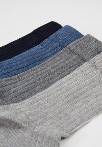 s.Oliver - 4 PACK - Socks - blue melange - 2