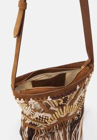 Alberta Ferretti - CROCHET SHOULDER BAG - Across body bag - brown - 2