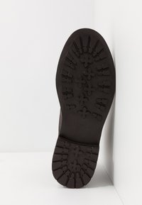 Walk London - WOLF TOE CAP - Lace-up ankle boots - thunder brown - 4
