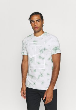 TEE HERITAGE DYE - T-shirt con stampa - white/steam