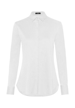 DAMEN BLUSE LANGARM - Button-down blouse - weiss (10)