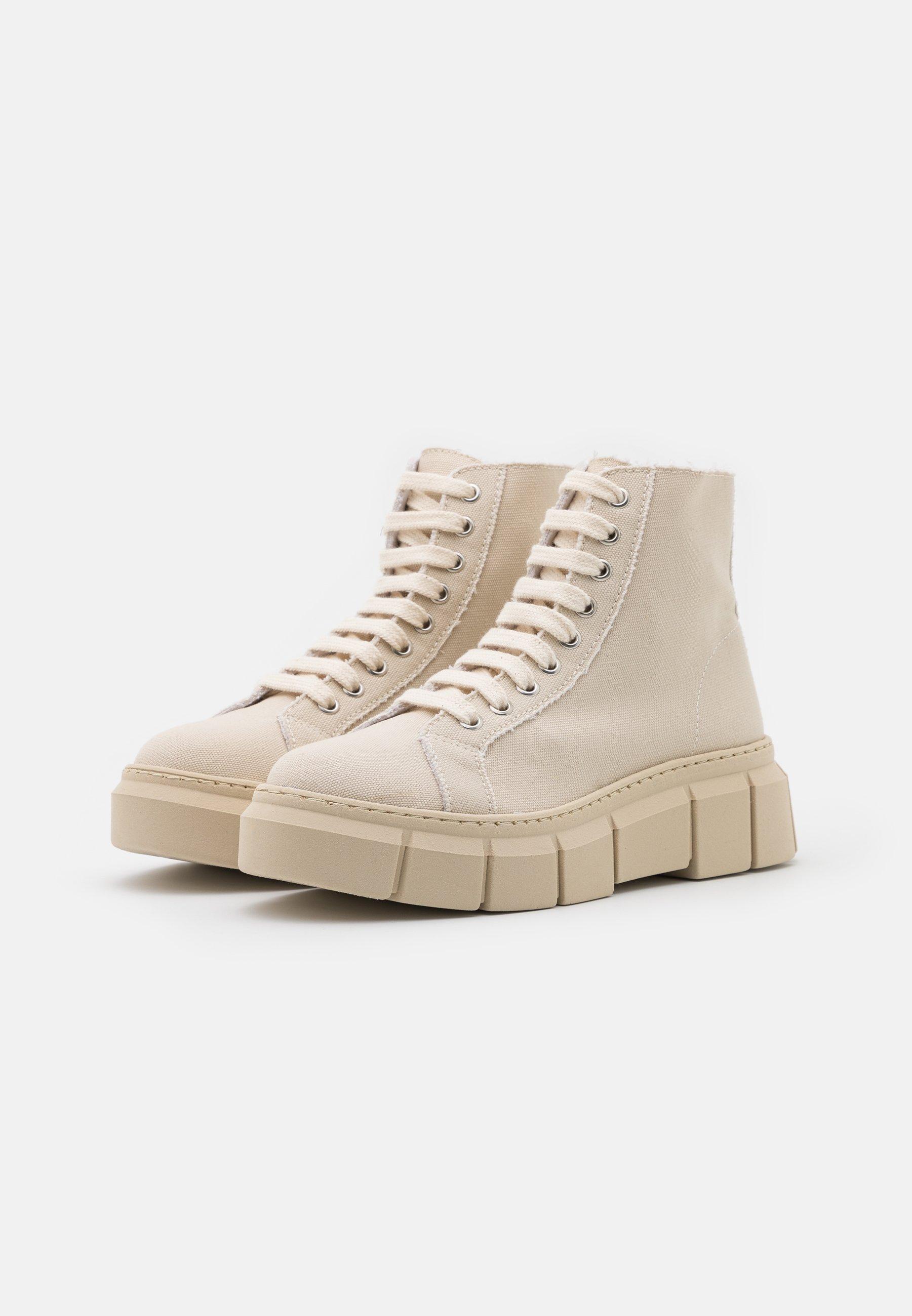 Kaltur Ankle Boot beige/weiß