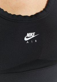 Nike Performance - Urheiluliivit: keskitason tuki - black/white - 5