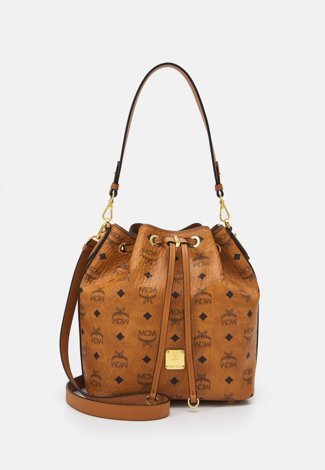 ESSENTIAL VISETOS ORIGINAL DRAWSTRING SMALL - Handbag - cognac