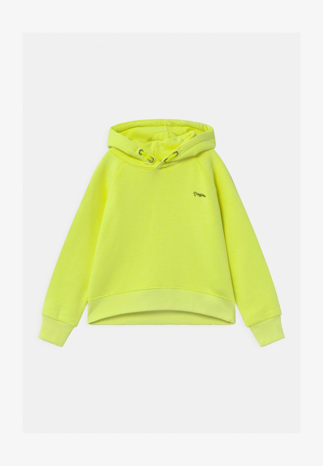 NATASJA BASIC HOODIE - Sweat à capuche - neon lime