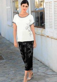 Alba Moda - Blouse - off-white,schwarz - 5