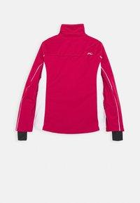Kjus - GIRLS FORMULA JACKET - Ski jacket - mulberry/white - 2