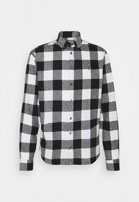 ANTON - Shirt - anthracite black