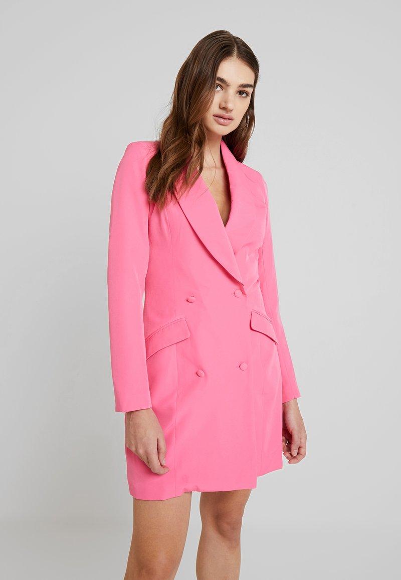 Missguided - BLAZER DRESS - Pouzdrové šaty - pink