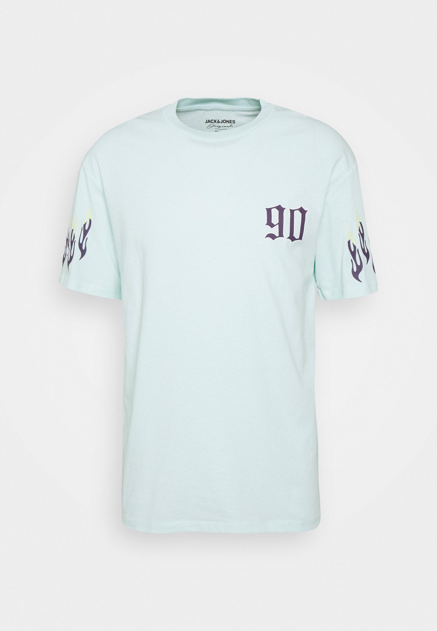 Men JORCLUB TEE CREW NECK - Print T-shirt