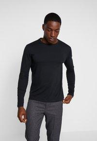 Pier One - Långärmad tröja - black - 0