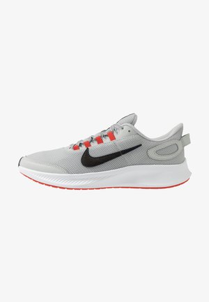 RUNALLDAY 2 - Zapatillas de running neutras - grey fog/black/chile red/racer blue