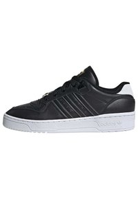 adidas Originals - RIVALRY LOW SHOES - Sneakers laag - black - 0