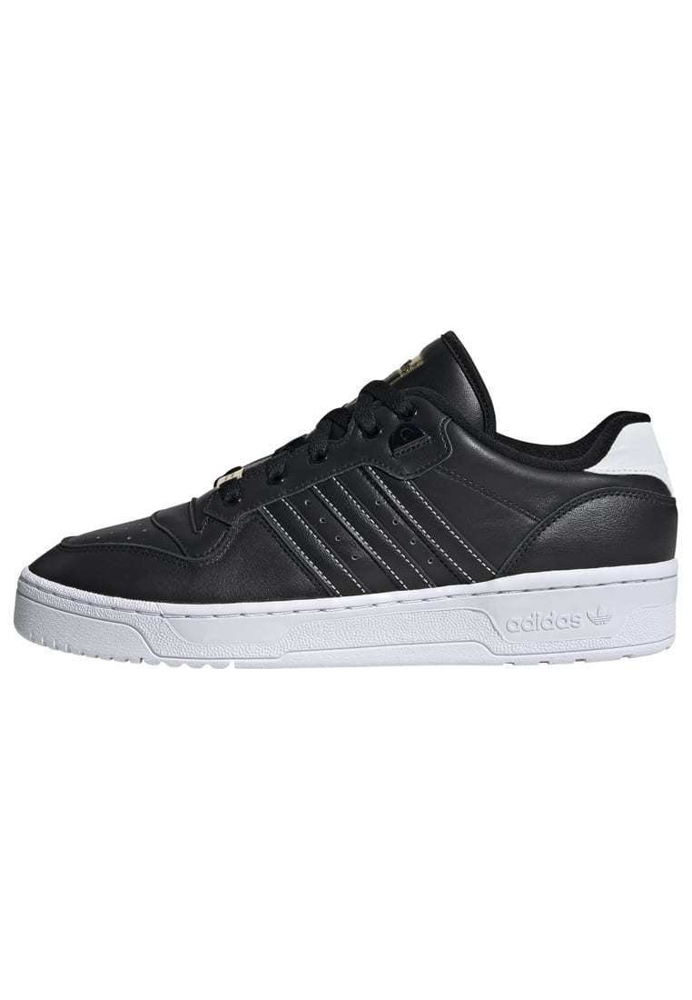 adidas Originals - RIVALRY LOW SHOES - Sneakers laag - black