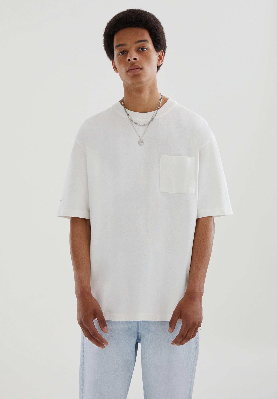 Homme OVERSIZE AUS PREMIUM-GEWEBE - T-shirt basique